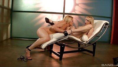 Samantha Ryan and Sabrina Rose in fabulous lesbian moments