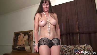USAwives Collection of Horny solo Models in Compilation