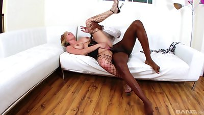 Mature goes black and now she's agreed-upon