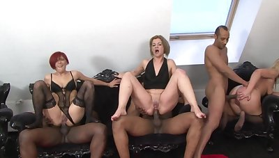raunchy wife family with dildo before obtaining huge cock