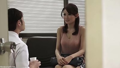 Skinny Japanese woman got fucked in the hospital and liked at all times single second of it