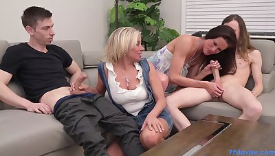 Payton Hall And Sofie Marie - Cougar Swap prearrange carnal knowledge