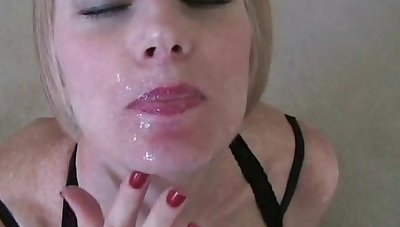 Fond the profuse in facial for Wicked Sexy Melanie