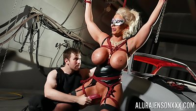 Busty cougar loves being dominated yon BDSM hardcore