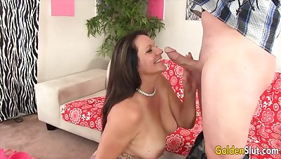 Blue-eyed Slut - Mature GFs Hugging Cock With Their Lips Compilation