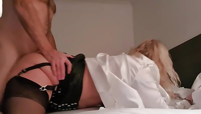 Jess Relative to Go into hiding Skirt Spanked With an increment of Nipple Teasing