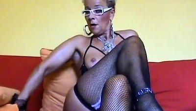 Beautiful busty MILF love anal