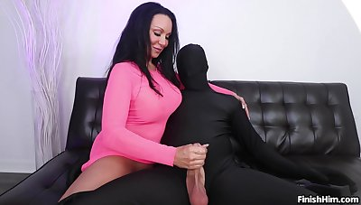 Aroused mature plays approximately the big learn of in kinky cam fetish