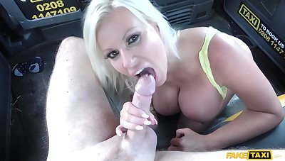 Big Pop Moans With Pleasure While Sucks His Balls! With Michelle Thorne